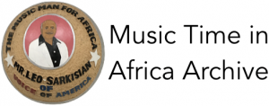 Music Time in Africa Archive